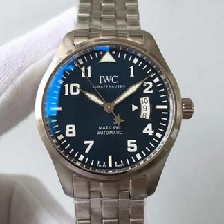 MKS厂IWC万国IW326506,精仿万国飞行员马克17小王子限量版型号IW326506价格_多少钱_报价-实名表业高仿手表商城