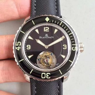 精仿宝珀五十噚系列陀飞轮腕表价格_多少钱_报价-实名表业高仿手表商城