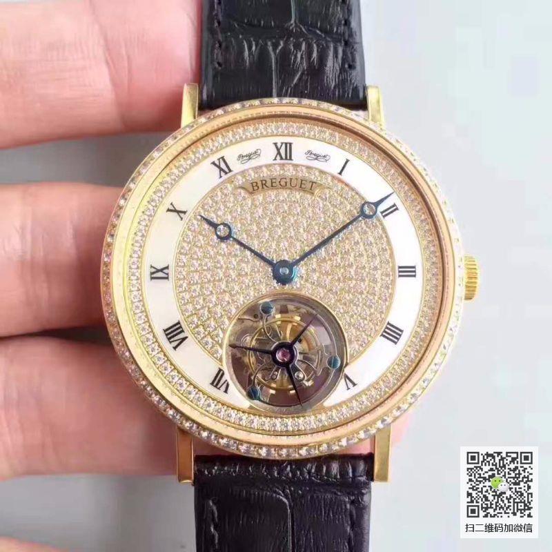 复刻宝玑超薄陀飞轮系列价格_多少钱_报价-实名表业高仿手表商城