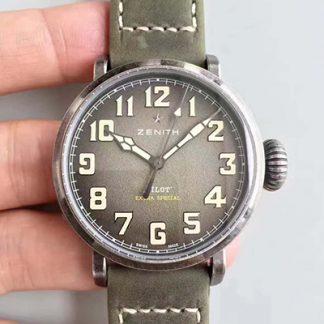 XF厂高仿真力时飞行员手表,一比一复刻XF真力时飞行员11.1943.679/63.C800,精仿真力时11.1943.679/63.C800,男士机械表价格_多少钱_报价-实名表业高仿手表商城