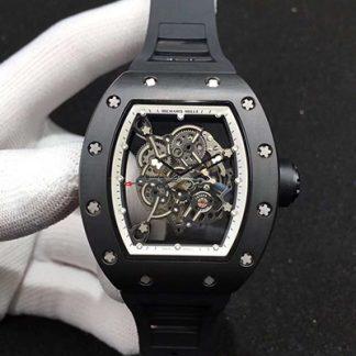 复刻理查德米勒手表 KV厂理查德米勒 RM055陶瓷腕表价格_多少钱_报价-实名表业高仿手表商城