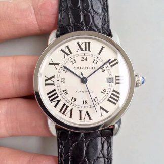 【卡地亚W6701010】ZF厂一比一高仿瑞士卡地亚Cartier伦敦SOLO系列W6701010男表 全自动机械男士手表价格_多少钱_报价-实名表业高仿手表商城