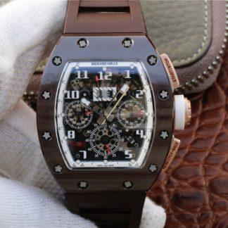理查德米勒仿多少钱 RM011 男士机械表KV厂复刻价格_多少钱_报价-实名表业高仿手表商城