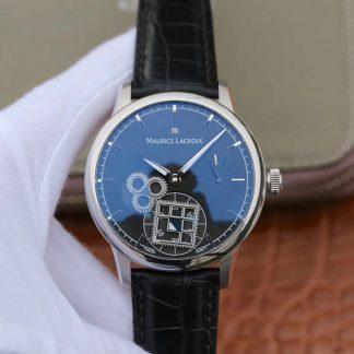 AM厂出品艾美机械男表 艾美手表am厂皮带MP7158-SS001-901-1价格_多少钱_报价-实名表业高仿手表商城