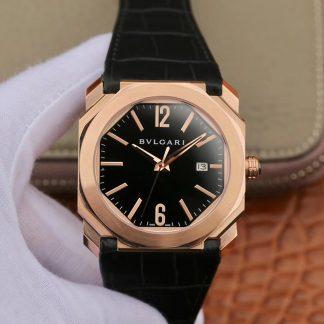 精仿宝格丽手表男表 宝格丽手表octo系列皮带男表价格_多少钱_报价-实名表业高仿手表商城
