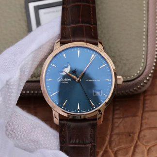 一比一复刻格拉苏蒂机械手表 格拉苏蒂原创议员大日历月相男表价格_多少钱_报价-实名表业高仿手表商城