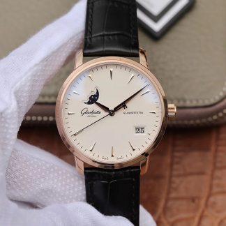 格拉苏蒂原创议员大日历月相腕表 格拉苏蒂月相男表机械手表价格_多少钱_报价-实名表业高仿手表商城