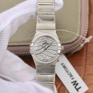 顶级复刻tw厂出品欧米茄星座 欧米茄星座女表复刻哪个厂最好价格_多少钱_报价-实名表业高仿手表商城