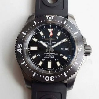 GF厂百年灵M1739313/BE92/227S/M20SS.1,复刻百年灵超级海洋系列44MM M1739313/BE92/227S/M20SS.1黑钢男表价格_多少钱_报价-实名表业高仿手表商城