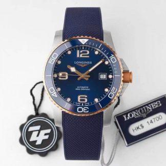 ZF厂浪琴L3.781.3.98.9,复刻浪琴康卡斯潜水系列L3.781.3.98.9蓝盘男表价格_多少钱_报价-实名表业高仿手表商城