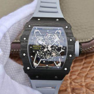KV厂理查德米勒RM-035,复刻理查德·米勒RM-035碳纤维男表价格_多少钱_报价-实名表业高仿手表商城