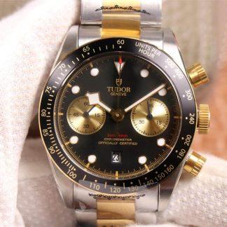 TW厂帝舵M79363N-0001,复刻帝舵碧湾计时型M79363N-0001黄金钢带款男表价格_多少钱_报价-实名表业高仿手表商城