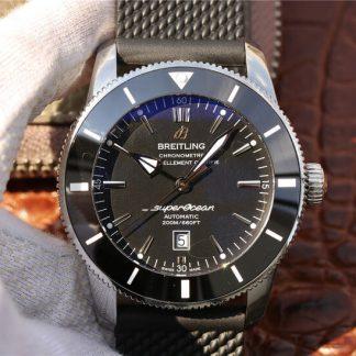 GF厂百年灵AB2010121B1S1,复刻百年灵超级海洋文化二代AB2010121B1S1黑盘男表价格_多少钱_报价-实名表业高仿手表商城
